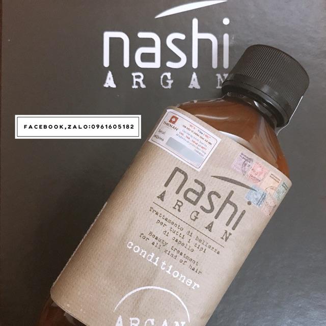 Dầu xả phục hồi nashi argan 200ml