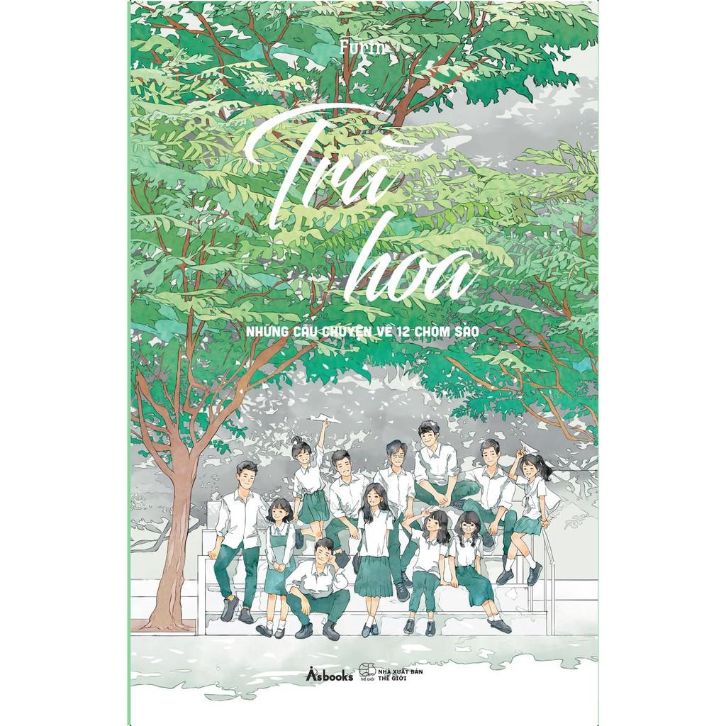 [ Sách ] Trà Hoa - Những Câu Chuyện Về 12 Chòm Sao - Tặng Kèm Bookmark