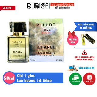 Nước hoa Nam Allure Homme dạng tinh dầu 50ml lưu hương 16 tiếng, tỏa hương 2 mét, hàng cao cấp