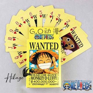 Poker truy nã Vua hải tặc One Piece