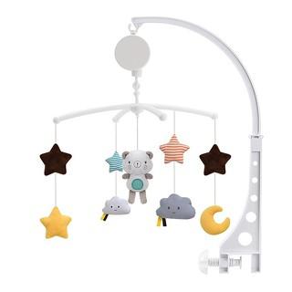 Bé Nôi giữ đồ chơi cho bé Đồ chơi đồng hồ Âm nhạc Hộp Giường Chuông Đồ chơi Gấu Handmade Đồ chơi di động cho trẻ em