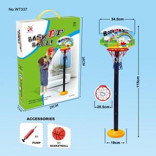 Bộ đồ chơi ném bóng rổ cho bé, phát triển toàn diện chiều cao trẻ, an toàn, chất lượng