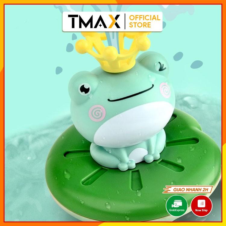 Đồ chơi nhà tắm ếch phun nước giúp trẻ em vui chơi giải trí vận động sáng tạo thông minh phù hợp cho bé 1 tuổi TMAX DC31