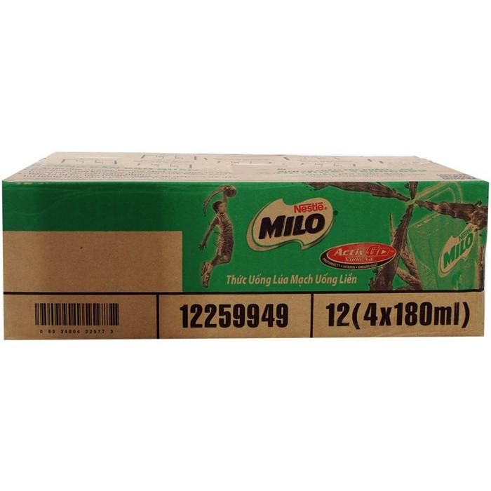 Sữa Milo 180ml