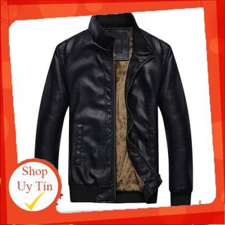 Áo khoác da lót lông cao cấp LADOS-105 -Hàng nhập khẩu