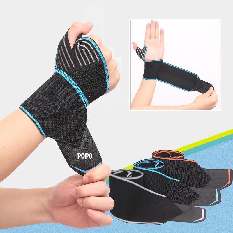 Đai quấn bảo vệ cổ tay XỎ NGÓN khi tập tạ, gym, bóng rổ - POPO Sports