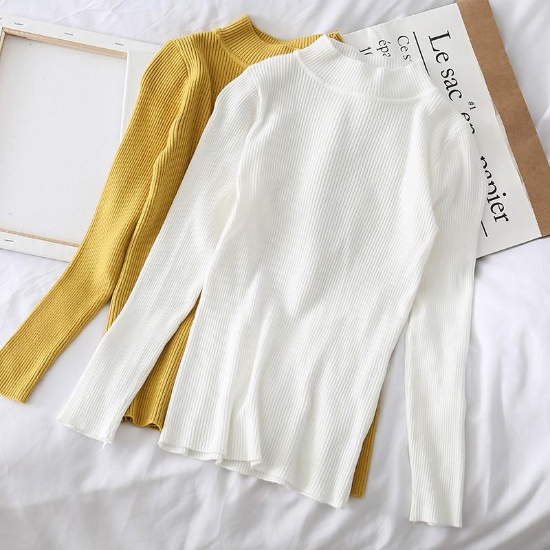 đầm len nữ dài tay cổ cao sọc ngang thời trang - 22593041 , 3701238860 , 322_3701238860 , 144700 , dam-len-nu-dai-tay-co-cao-soc-ngang-thoi-trang-322_3701238860 , shopee.vn , đầm len nữ dài tay cổ cao sọc ngang thời trang