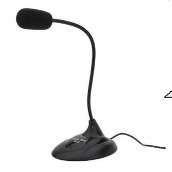 Microphones Salar M6 (Đen), Micro thu âm - Microphone sala cho máy tính