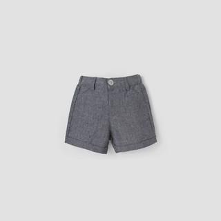 Quần short Oxford BAA BABY lật lai màu xanh navy cho bé trai - BT-QU09N-004XN thumbnail