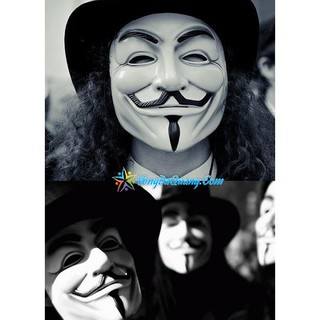 SALE — Mặt nạ Hacker Anonymous Uchất lượng nhất