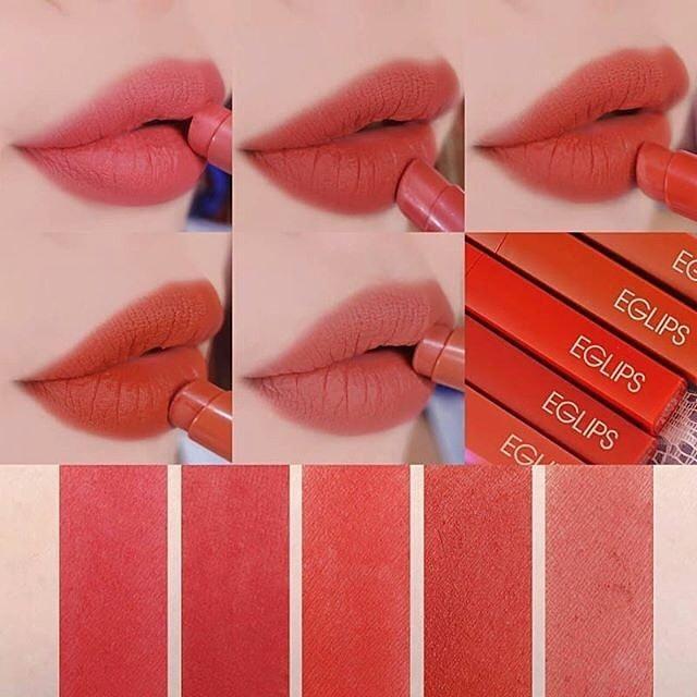 Son lì Eglips Muse in Velvet Lipstick