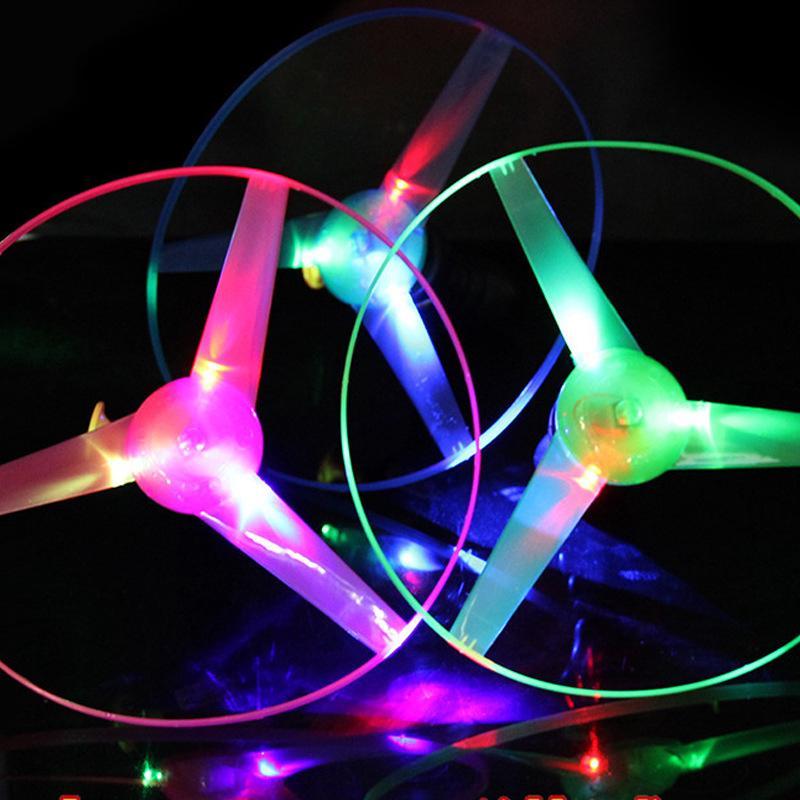 Children UFO wire flashing flying saucers