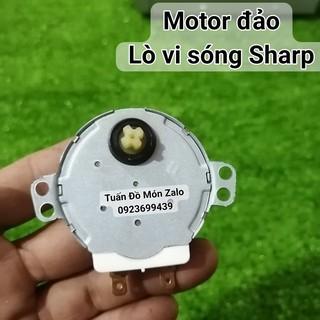 Motor quay đĩa lò vi sóng Sharp ( đầu trục 4 khía ) phụ kiện phụ tùng linh kiện chính hãng