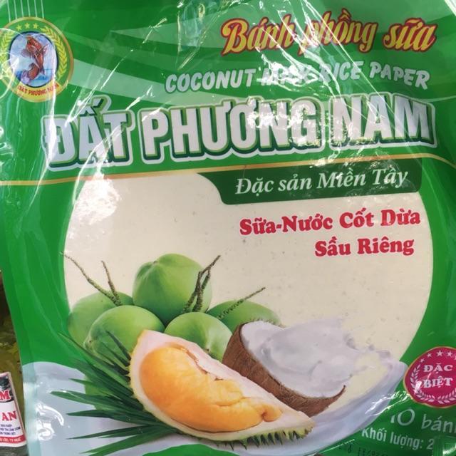 Bánh phồng sữa nước cốt dừa sầu riêng( giao ngẫu nhiên các cơ sở Thuý Vân, Đất Phương Nam, Hoàng Dung)