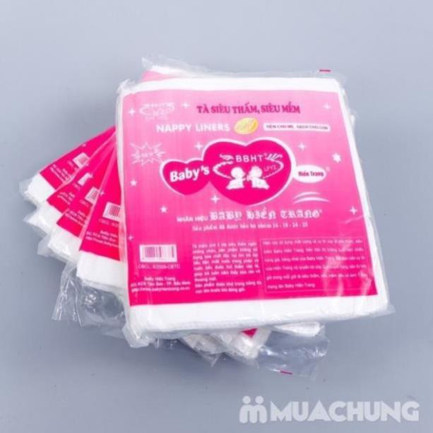 Combo 50 gói lót phân su cho bé , chống thấm ( sỉ)