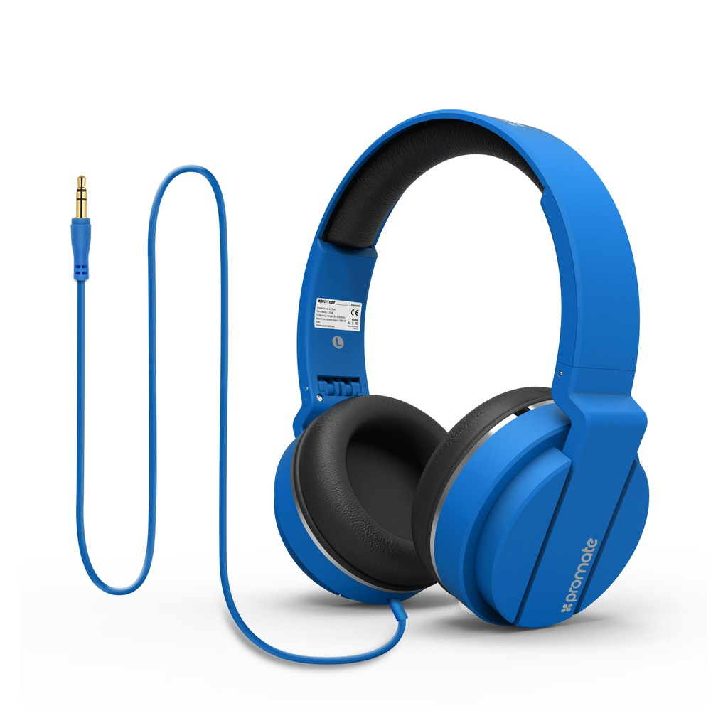 Tai nghe On-Ear Promate Encore dây 150cm