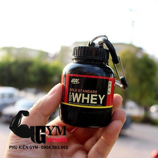 Hộp đựng whey, mass, bcaa Ishake Protein Funnel ON Gold Standard