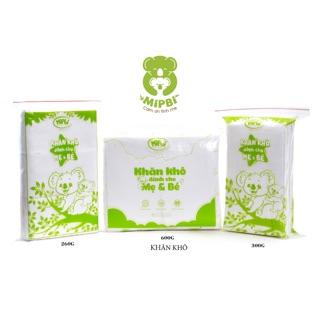 600g Khăn khô đa năng siêu mềm Mipbi cho bé - made in Viet Nam