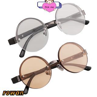 ROW Men Women Half-frame Eye wear +0.00~+4.0 Diopter Metal Titanium Alloy Reading Glasses