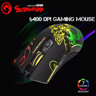 Chuột Gaming Marvo M209 RGB 6400 DPI – Chính hãng