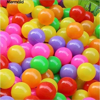50 Pcs Baby Colorful Soft Plastic Water Pool Ocean Wave Ball Outdoor Toys