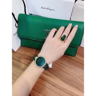 Đồng hồ Nữ Michael Kors MK2592 fullbox hãng màu xanh quyến rũ