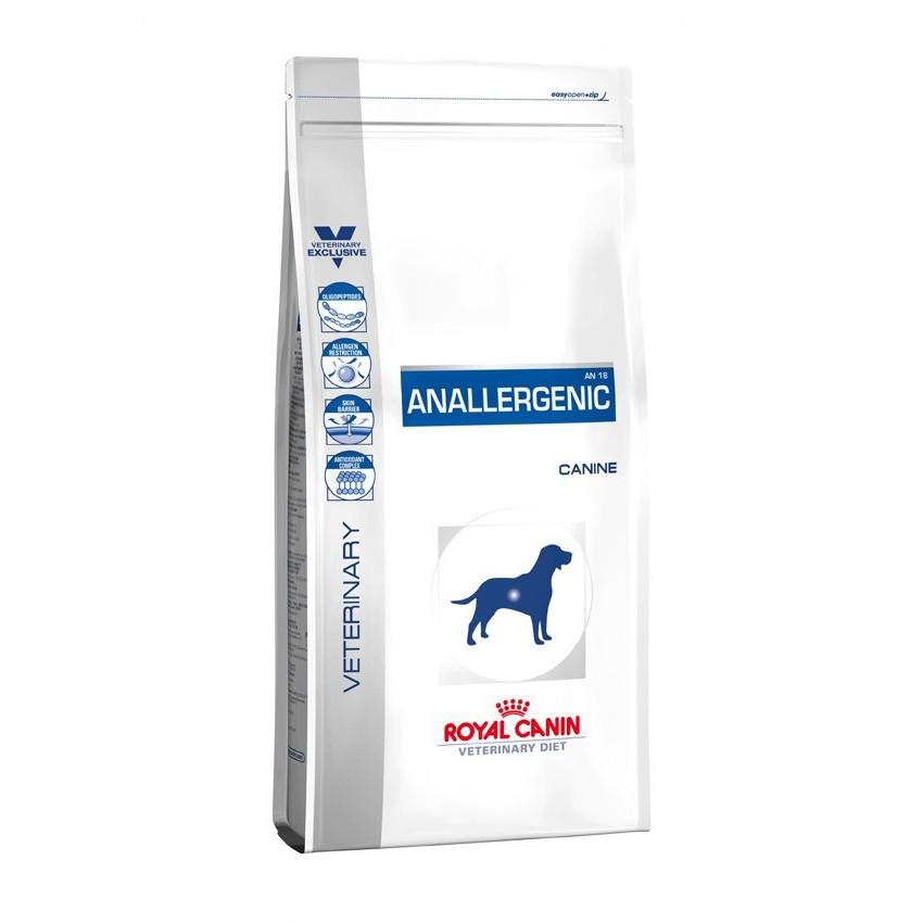 Royal Canin VD DOG ANALLEGENIC สุนัขที่มีภาวะแพ้อาหาร ใช้กรดอะมิโน เพื่อทดสอบและใช้ในภาวะแพ้มาก