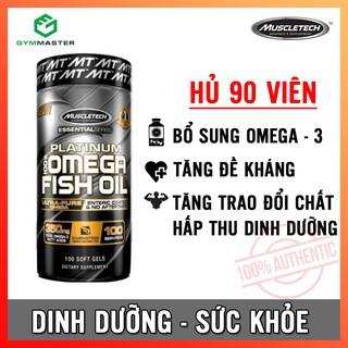 Viên dầu cá bổ sung dưỡng chất sức khoẻ Platinum Fish Oil MuscleTech - Hàng phân phối chính hãng 100% thumbnail