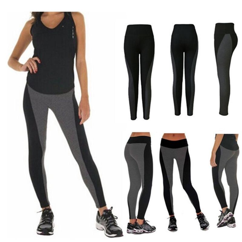 New Women Yoga Gym Skinny Leggings Pants Fitness Push-up Elastic Sports Trouser