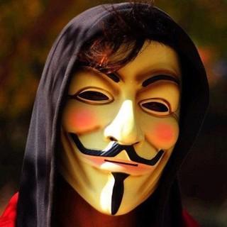 Mặt Nạ Hình Vendetta Nổi Tiếng Dành Cho Người Lớn , Dùng Trong Tiệc Halloween