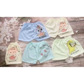 10 chiếc đùi cộc quần chục mông thú chất coton cho trẻ sơ sinh/quần coton cho bé
