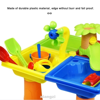 25pcs Plastic Funny Summer Outdoor Games Bucket Kids Gift Digging Pit Sandglass Play Sand Water Table Beach Toy Set
