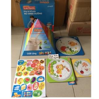 Bộ tháp dinh dưỡng cho bé
