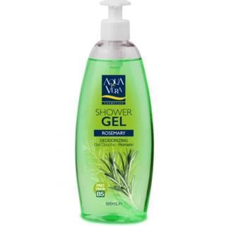 Gel tắm chiết xuất Hương thảo Aquavera 500ml