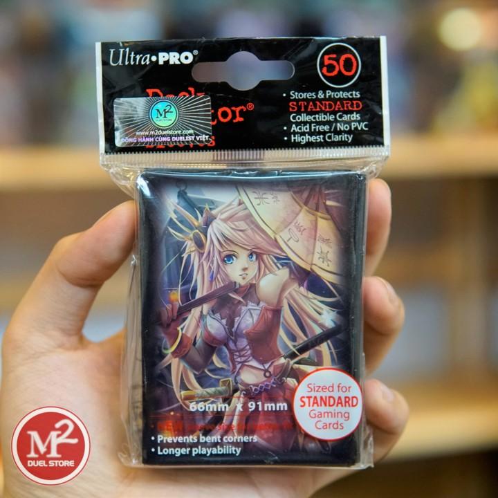 Bọc bài kích thước Standard size của hãng Ultra PRO - YU JI - 50 cái mỗi túi sản phẩm