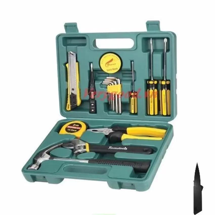 Bộ dụng cụ đa năng 16 món + Tặng 1 dao gấp du lịch vrg007991758 + VRG000126