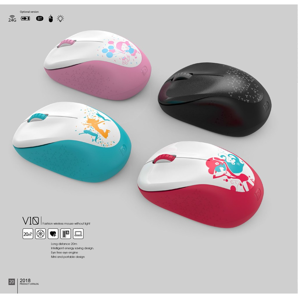 Chuột không dây FD-V10 chính hãng - Màu bất kì | Shopee Việt Nam
