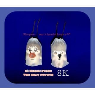 [15-20cm] Túi đựng doll 15cm, 20cm/ Giỏ đựng doll