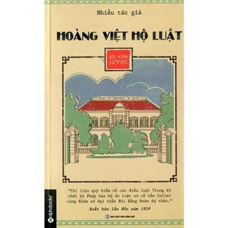 Sách - Hoàng Việt Hộ Luật - Góc Nhìn Sử Việt thumbnail