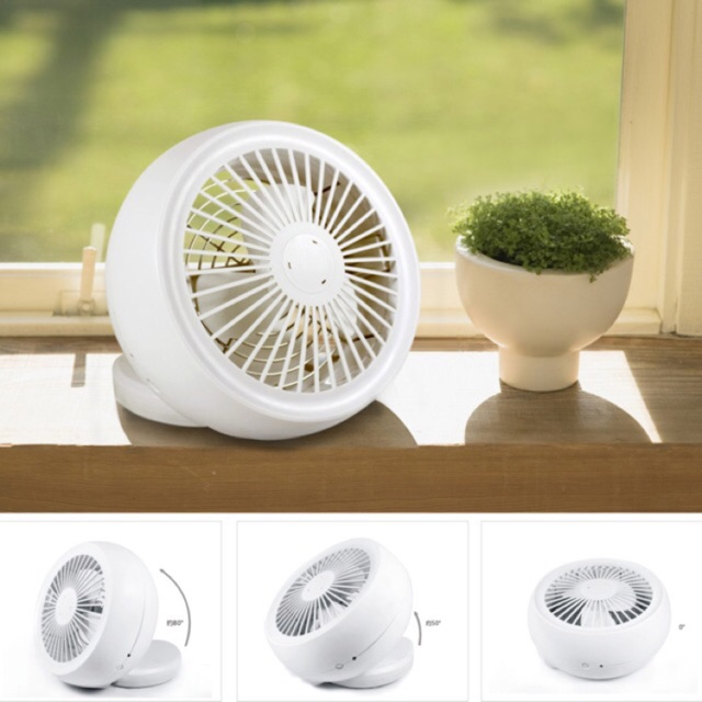 [SALE 10%] Quạt usb mini desktop fan để bàn gấp gọn
