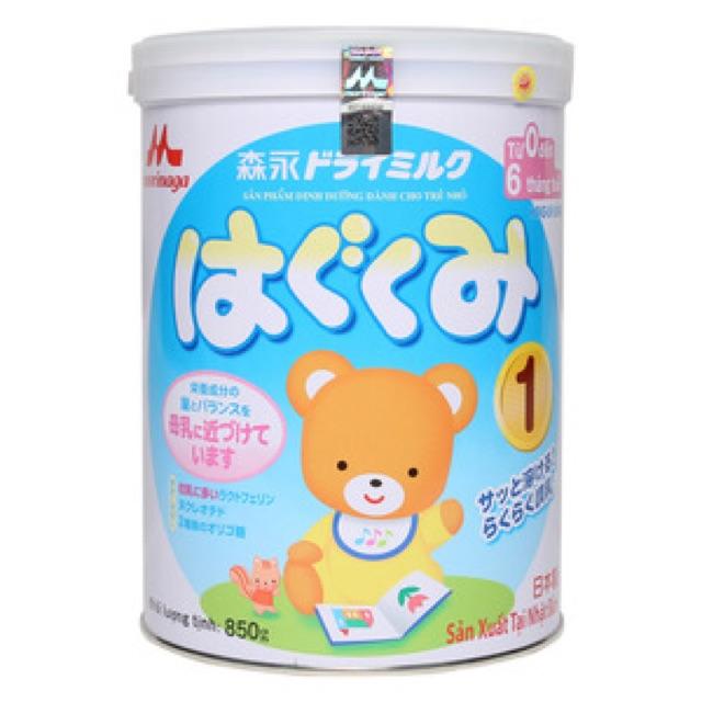 Sữa Morinaga số 1(850g) Date 10/2019