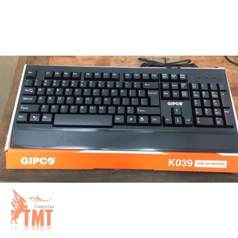 bàn phím gipco k039 chuyên dụng văn phòng
