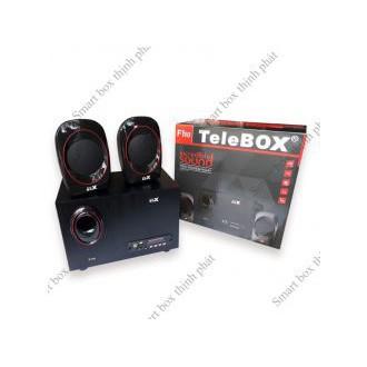 [Thiết bị âm thanh] LOA VI TÍNH TELEBOX F110 SỬ DỤNG THẺ NHỚ & USB-WDS - 15433836 , 1707313253 , 322_1707313253 , 1026000 , Thiet-bi-am-thanh-LOA-VI-TINH-TELEBOX-F110-SU-DUNG-THE-NHO-USB-WDS-322_1707313253 , shopee.vn , [Thiết bị âm thanh] LOA VI TÍNH TELEBOX F110 SỬ DỤNG THẺ NHỚ & USB-WDS