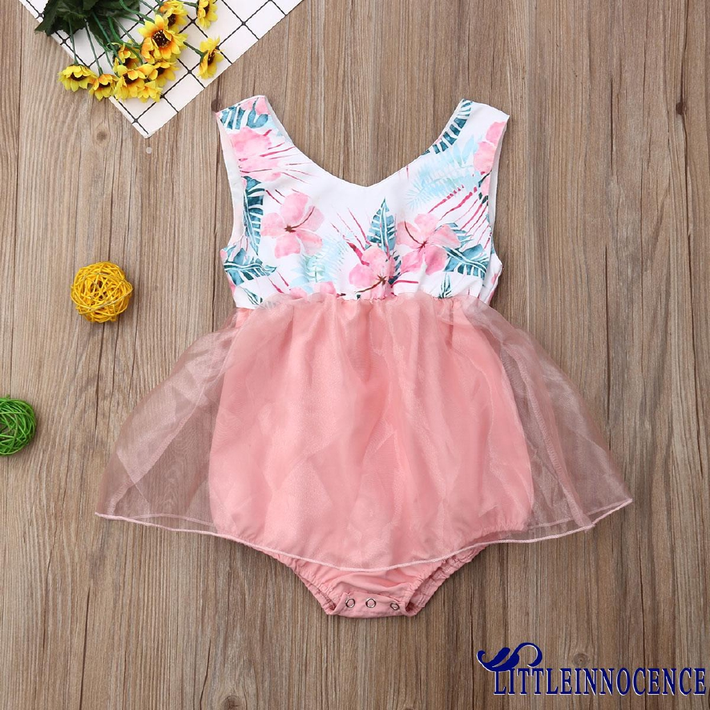 ❤XZQ-Infant Newborn Baby Girls Summer Romper Clothes Playsuit Summer Outfit