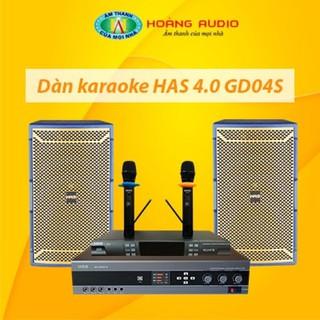 Bộ dàn karaoke gia đình HAS 4.0 GD04S thumbnail