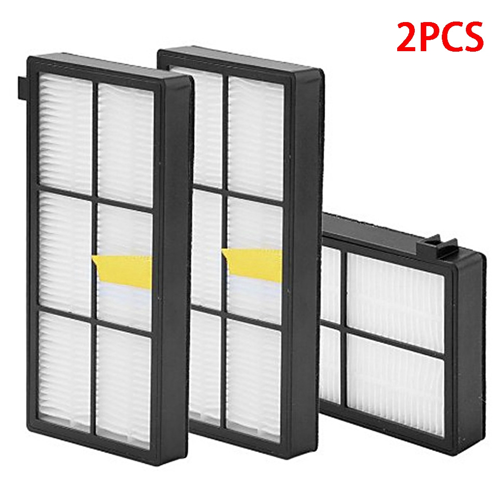 2PCS Sweeping Robot Replacement Useful HEPA Filter Home Clean Durable Accessories For IRobot 870 880