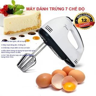 Máy Đánh Trứng Cầm Tay 7 Tốc Độ - Bảo Hành 6 Tháng thumbnail