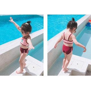 Bikini bé gái 2 mảnh – set bikini bé gái quảng châu cao cấp