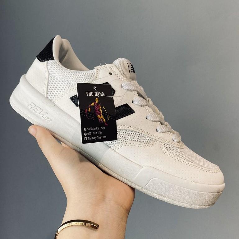 Giày thể thao sneaker NB chữ đen phản quang