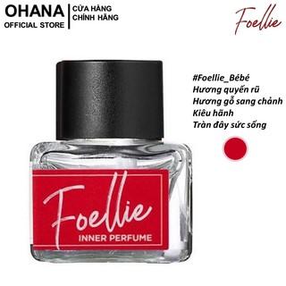 Nước Hoa Vùng Kín Hương Gỗ Đầy Kiêu Hãnh, Sang Chảnh Foellie Eau De Inner Beauty Perfume Bébé 5ml (Chai Đỏ) thumbnail